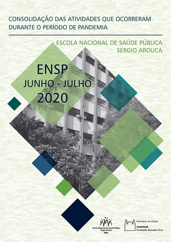 Minicapa do relatório de atividades durante o período de pandemia - Junho e Julho de 2020